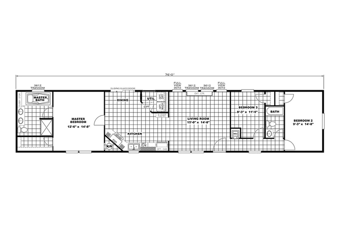 The THE ANNIVERSARY PLUS Floor Plan