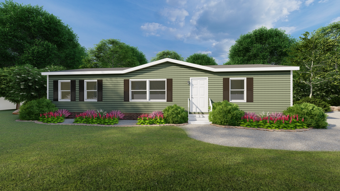The ULTRA PRO 52 Exterior. This Manufactured Mobile Home features 3 bedrooms and 2 baths.