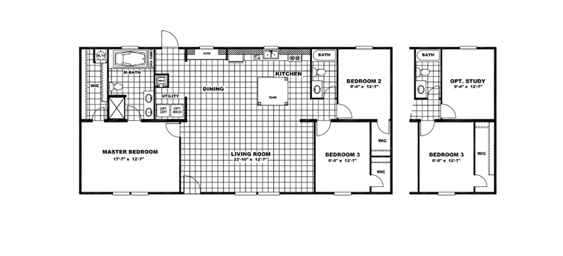 The ULTRA PRO 56A Floor Plan
