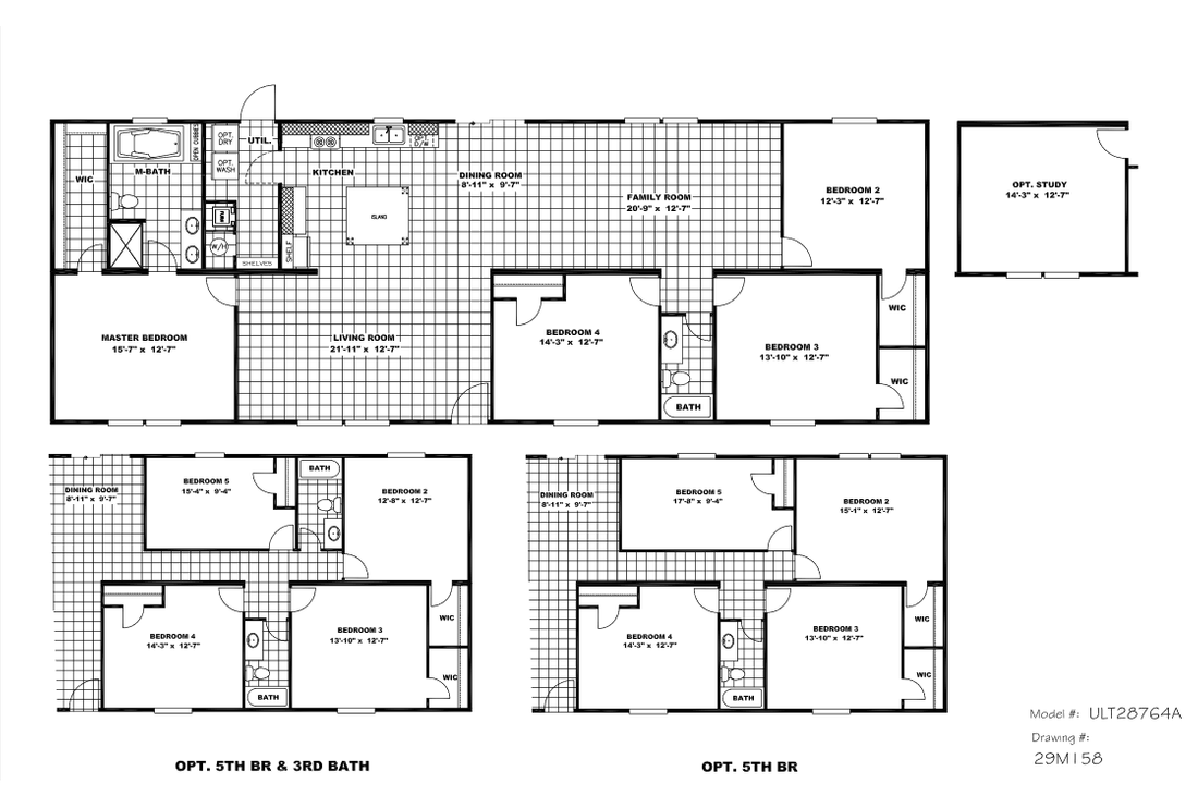 The ULTRA PRO 76 Floor Plan