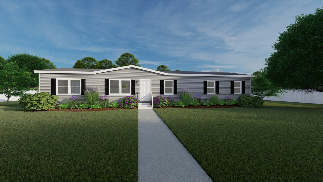 The ULTRA PRO 68 Exterior. This Manufactured Mobile Home features 4 bedrooms and 2 baths.