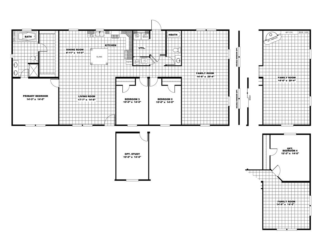 "The ULTRA PRO ""THE SATURN"" Floor Plan"