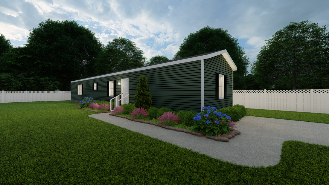 The ULTRA PRO BANDIT Exterior. This Manufactured Mobile Home features 3 bedrooms and 2 baths.