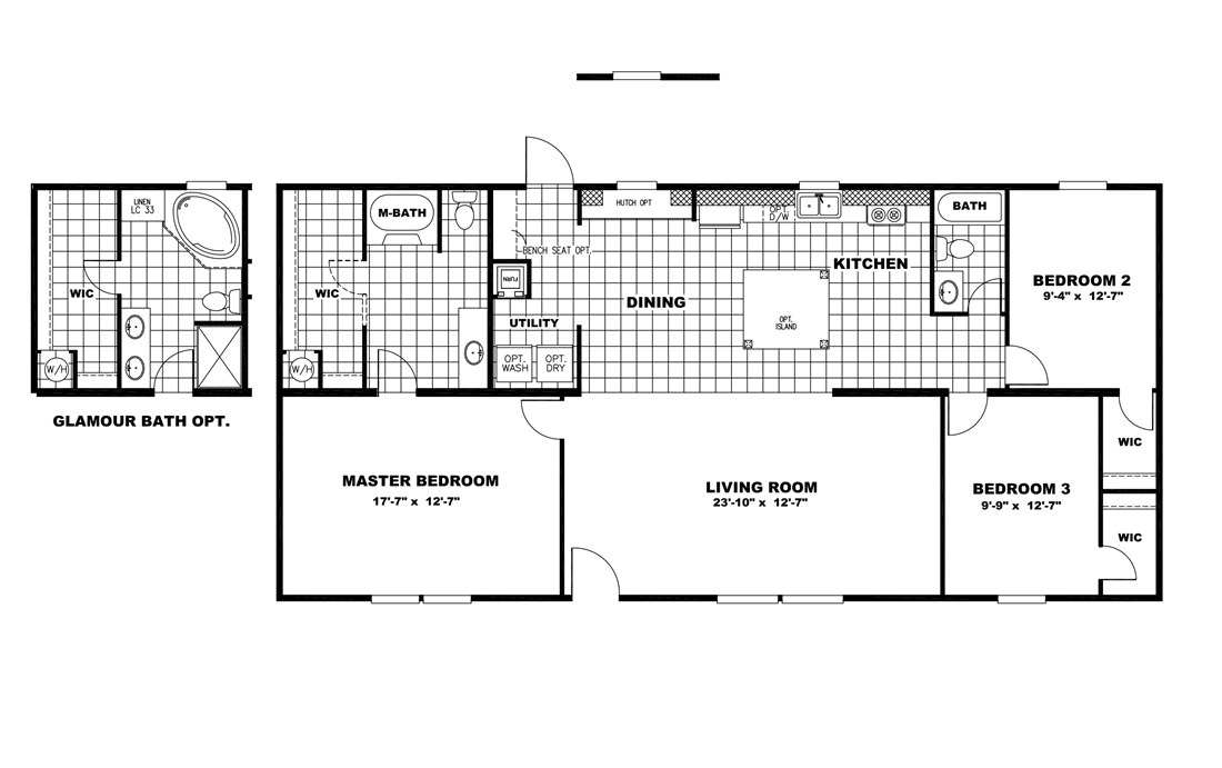 "The NOW28563Z ""NOW"" Floor Plan"